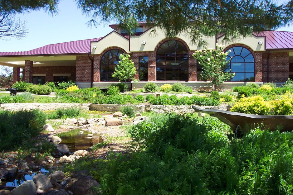 Waverly Public Library, Butterfly Garden, Waverly, Iowa