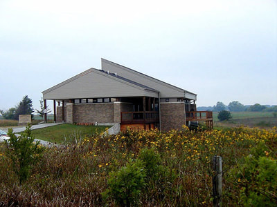 Rockford Fossil & Prairie Park Nature Center, Rockford, Iowa