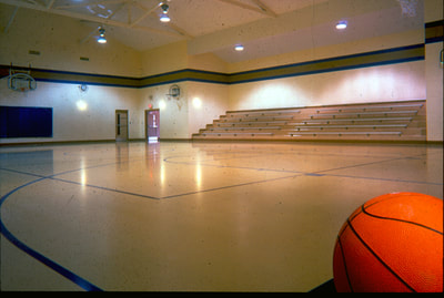 Blessed Sacrament School gymnasium, Waterloo, Iowa