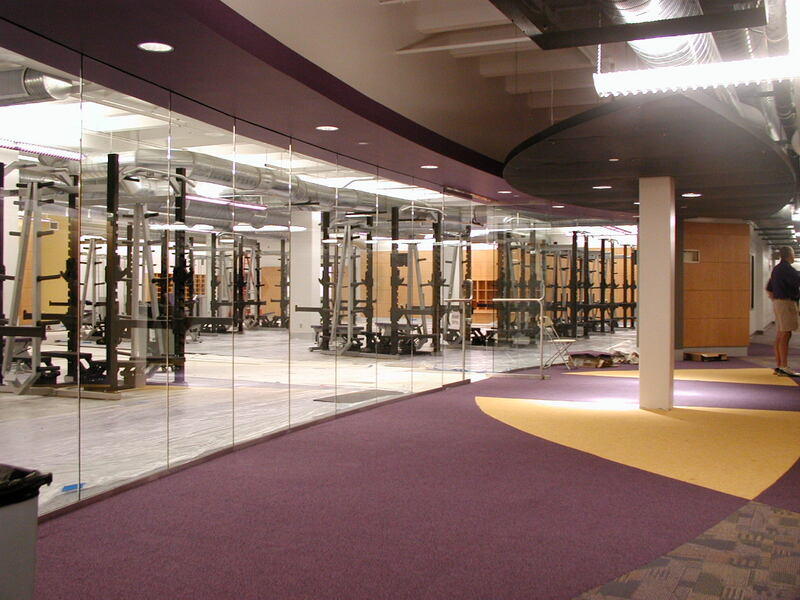 UNI University of Northern Iowa, Strength & Conditioning Center, Cedar Falls, Iowa